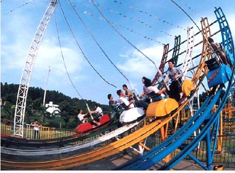 2012New Style Outdoor Electric Moon Coaster amusement park ride