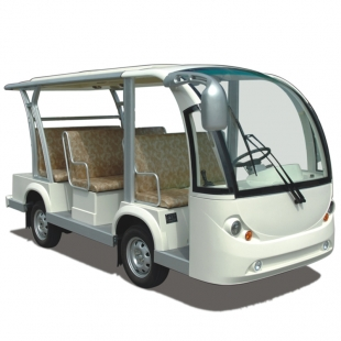 Electric sightseeing cart for 8 seats