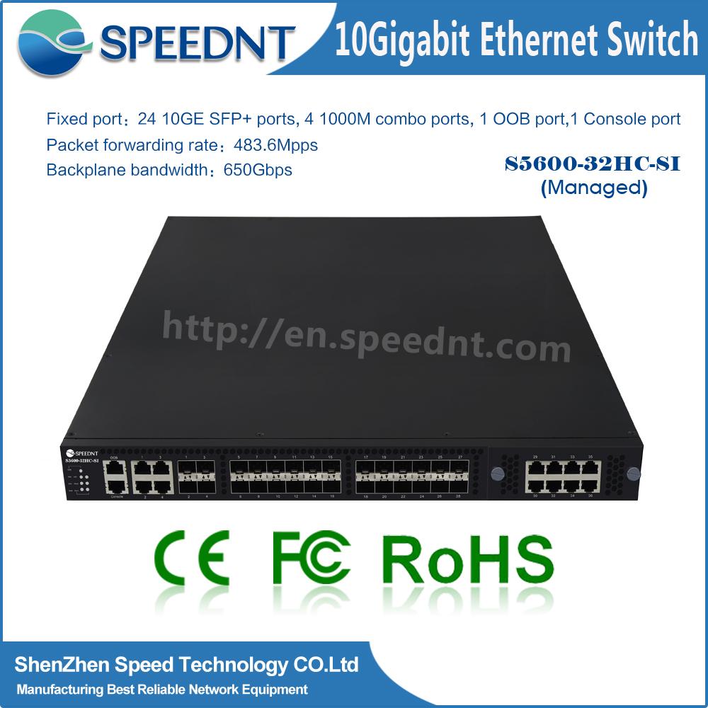 Manufacturer brand name L2/l3 48 port fiber optic switch 40 gb optical switch 10 gigabit
