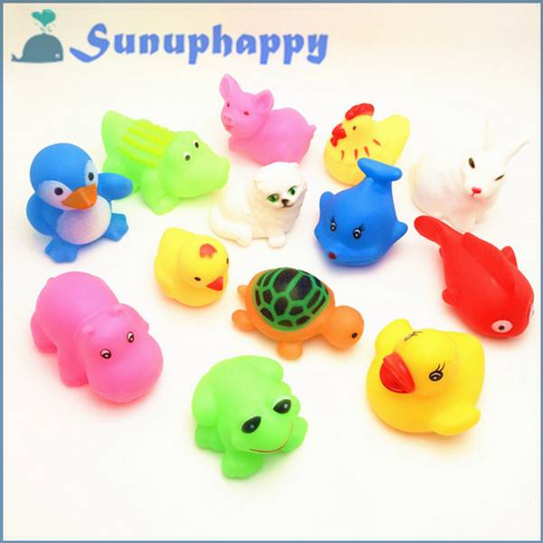 Factory supplier wholesale custom vinyl animal toy for baby