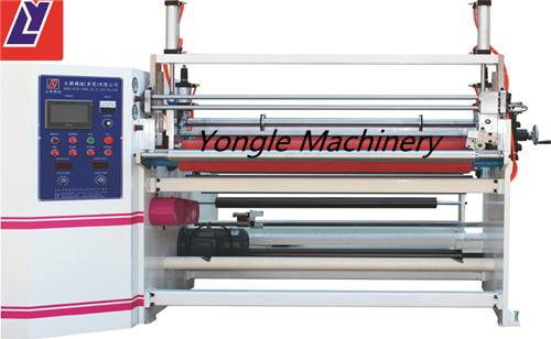 YL-508 Nonwoven fabric slitting and rewinding machine