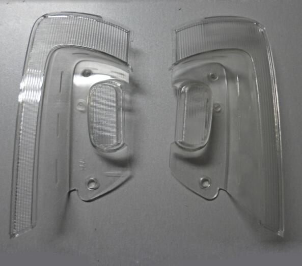 medical and auto trasnsparent clear lighr guide lens cover moulding