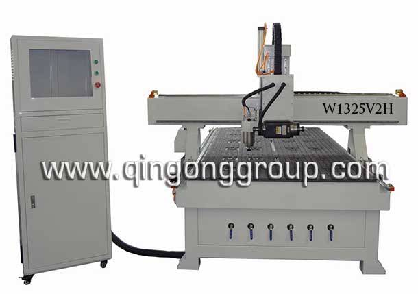 CNC Wood Door Making Machine with Side Milling W1325V2H