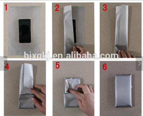 nickel copper rfid blocking electromagnetic shielding conductive fabric