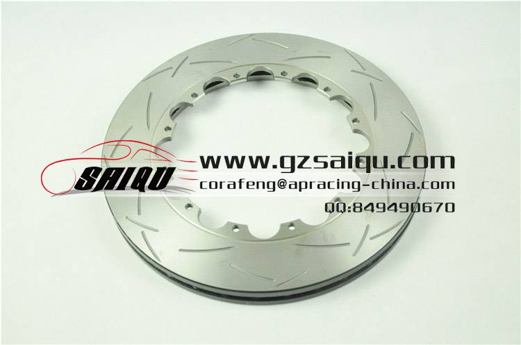 DICKASS Automobile Brake Disc 330*28 T3 Curved Grooves