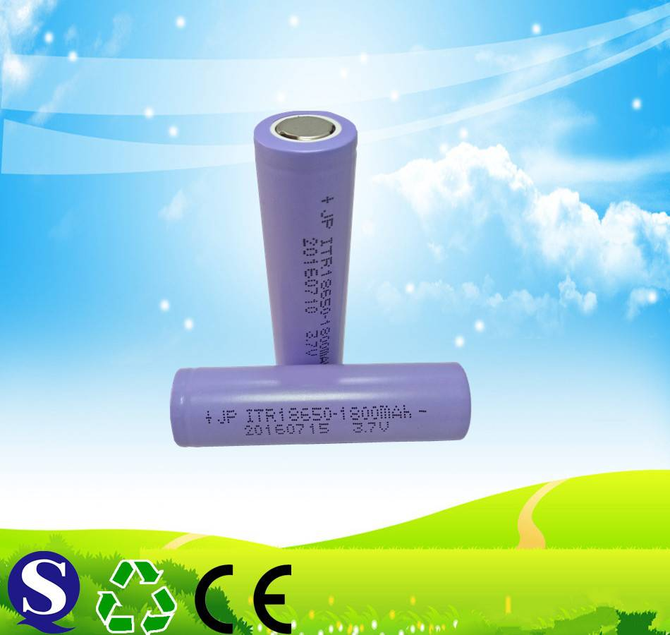 Rechargeable lithium ion battery 3.7v 1800mah  for e cigarette