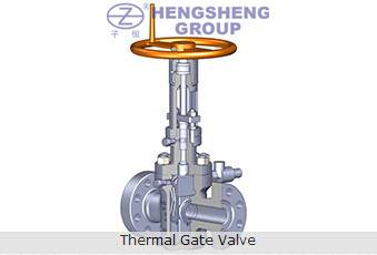 API 6A Thermal Gate Valve for Thermal Recovery Wellheads