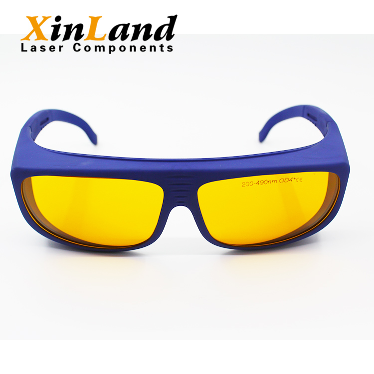 Factory supply industrial 200nm~490nm safety glasses manufacturers china