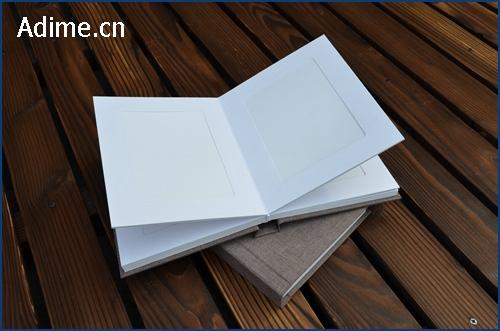 Wedding Linen Fabric Matted Photo Album