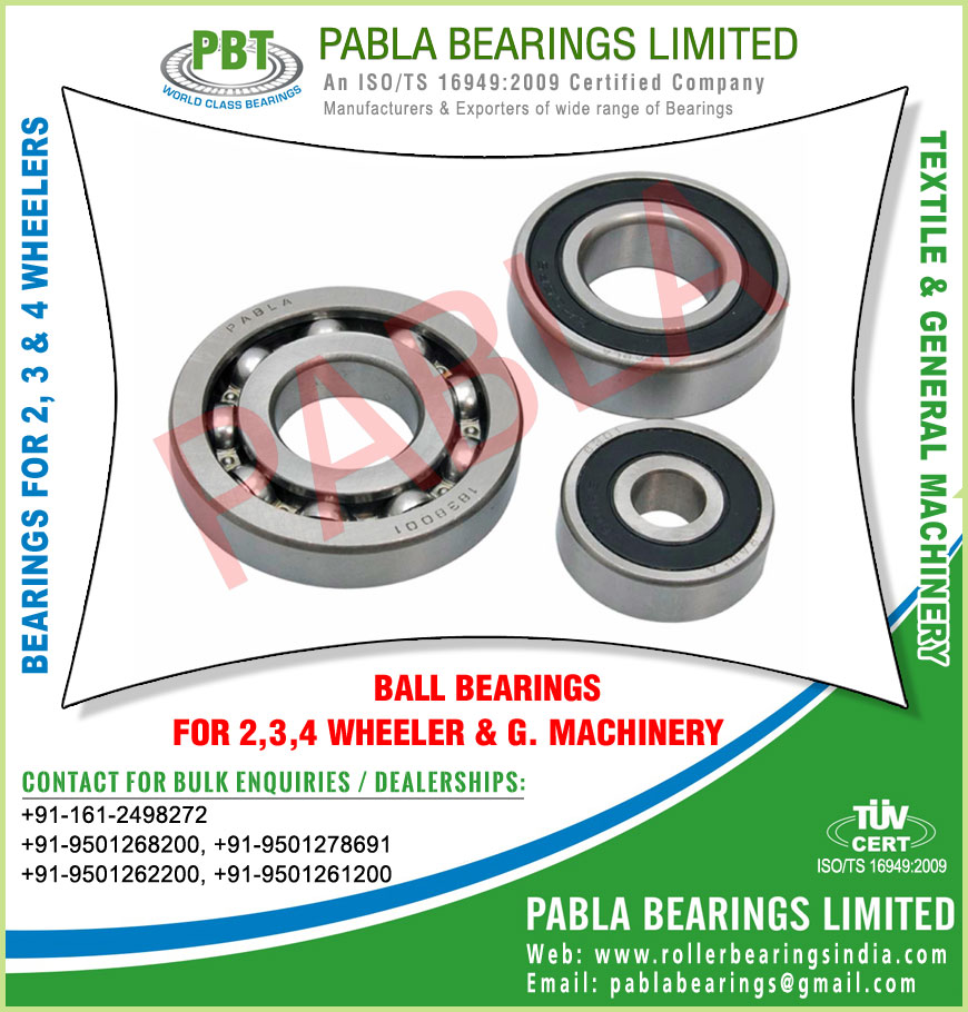 ball bearings manufacturers in India