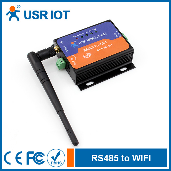 USR IoT RS485 WiFi Converter, Wireless Serial Server