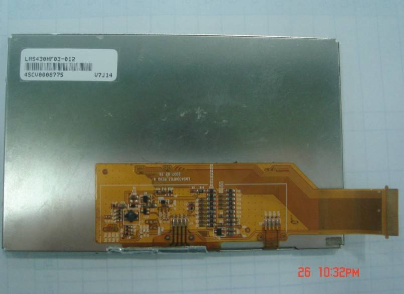 LMS430HF03-012,LTE430WQ-F0B-OB5 LCD display.4.3'' LCD Screen.