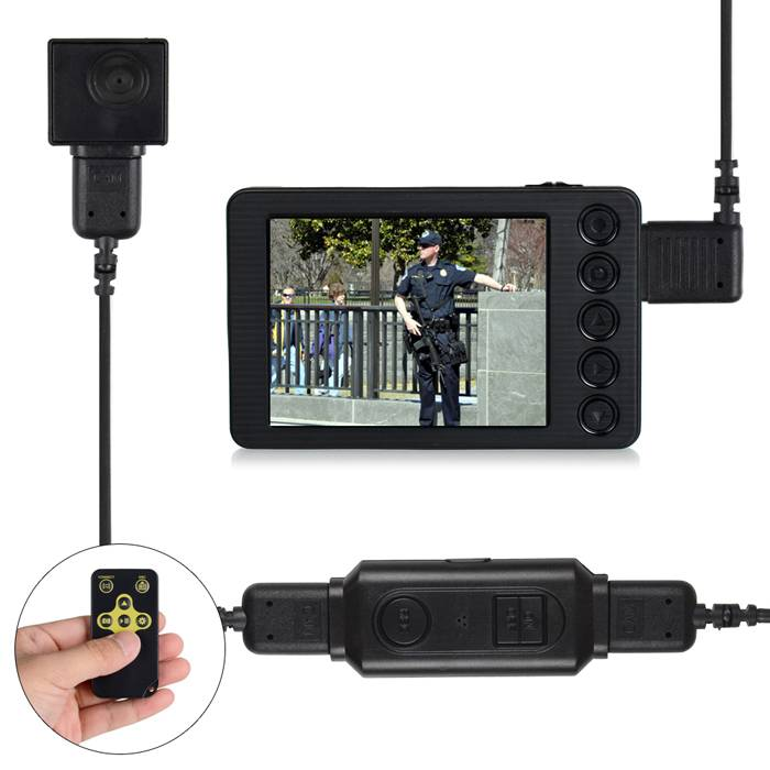 New Portable HD Police Body Camera Audio/Video Recording