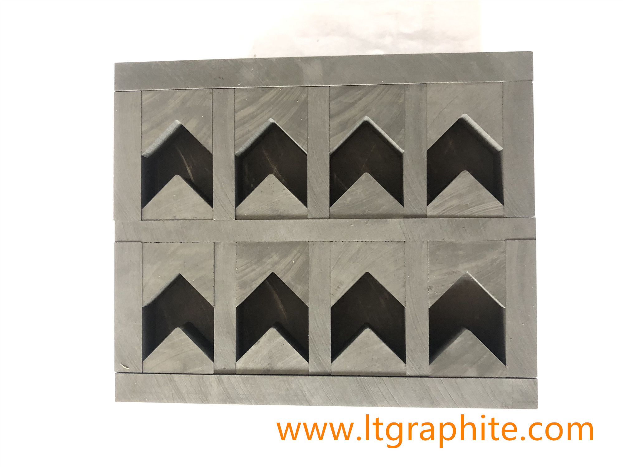 High Strength Graphite Mould for Diamond Arrow Part Cup