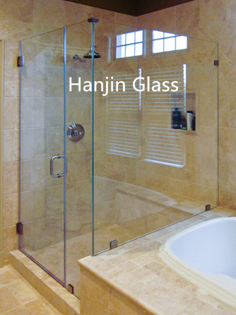 4mm 5mm 6mm Frosted Acid Ethced Glass Tempered /Toughened Glass for Bathroom