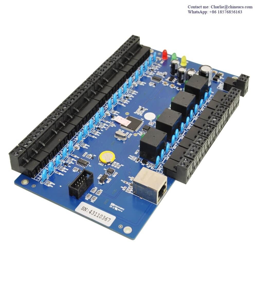 Four Door Two Way Access Control Controller Panel Kits