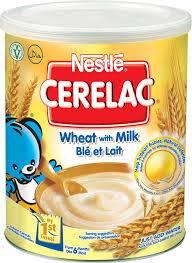 Nestle Cerelac Honey & Wheat with Milk 400gr Tin.