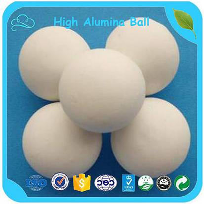 30-60mm Ceramic Grinding Media 68% Middle Alumina Ball
