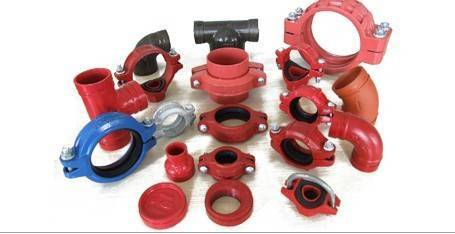 FM/UL/UCL/CE/ISO9001 DUCTILE CAST IRON FITTING