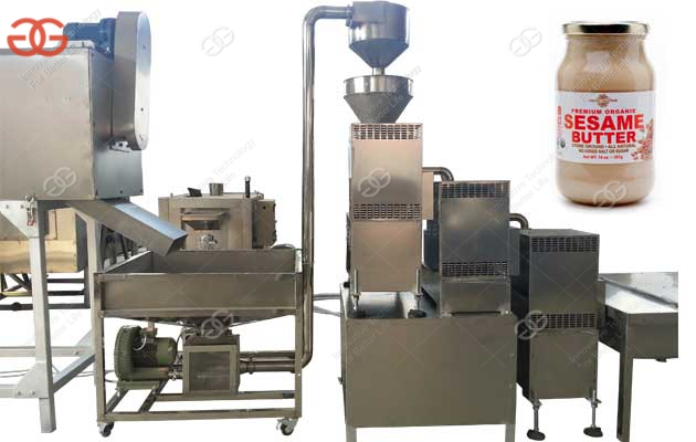 Industrial Sesame Tahini Production Line Manufacturer|Tahini Production Line Price