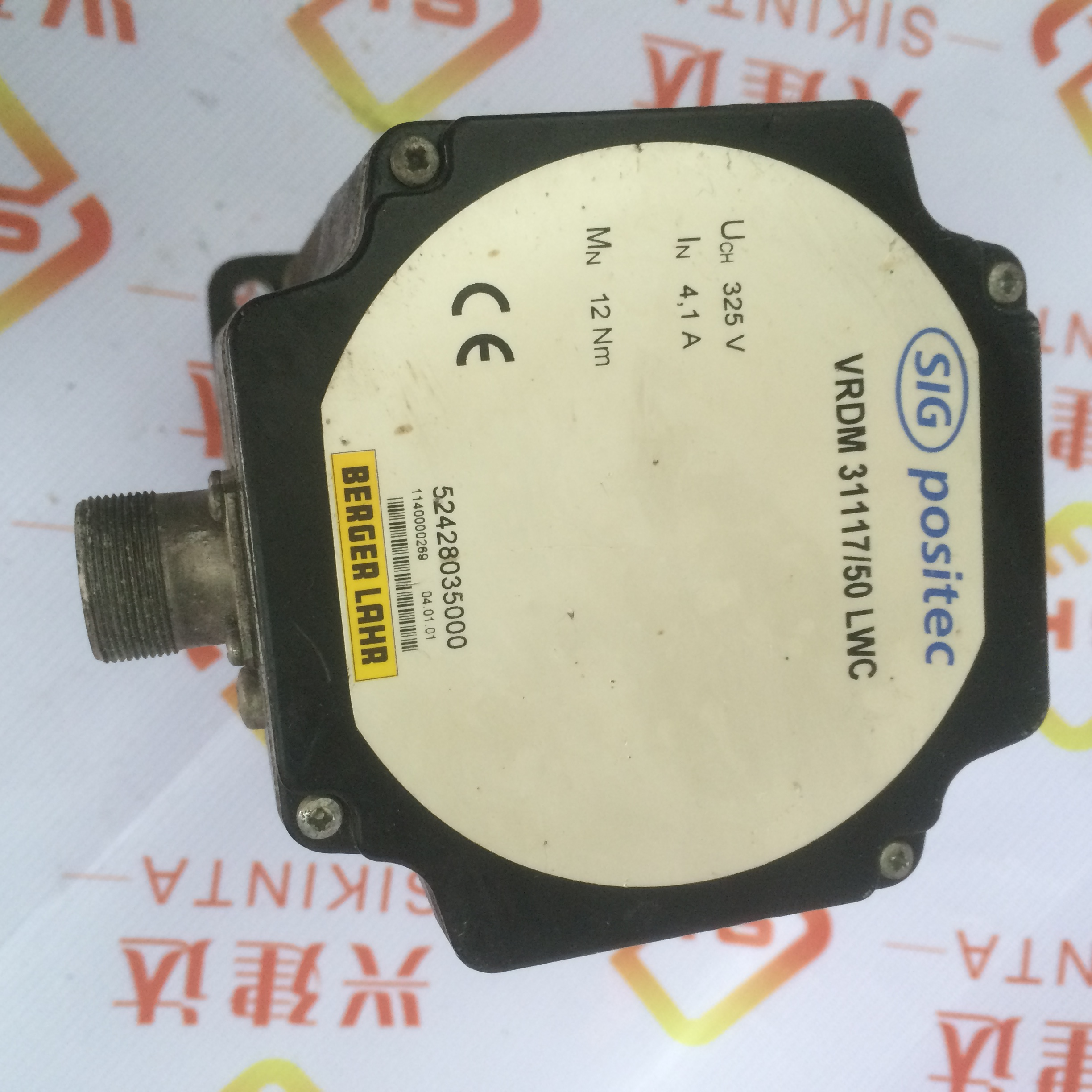 BERGER LAHR VRDM 31117/50 LWC used in good condition