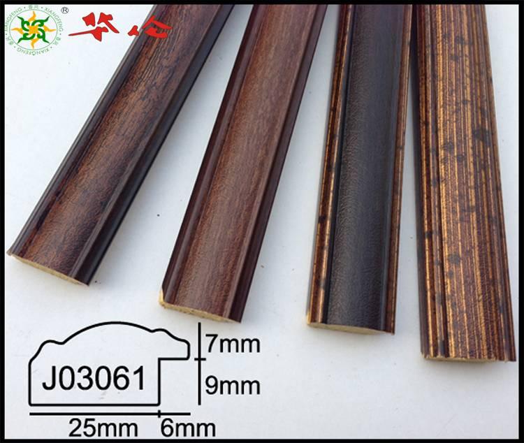 J03061 series Hot polystyrene picture frames moulding