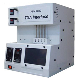 APK2800 TGA interface (Use for Sorbent Tube)