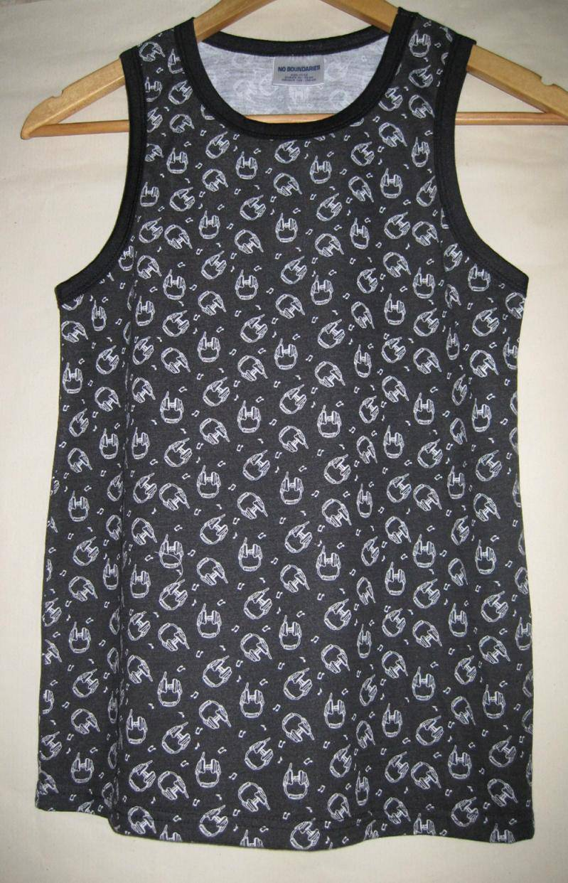 All over print singlet for boy