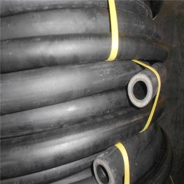 Heat Resistant Smooth Surface Rubber Hose With Cloth Insert