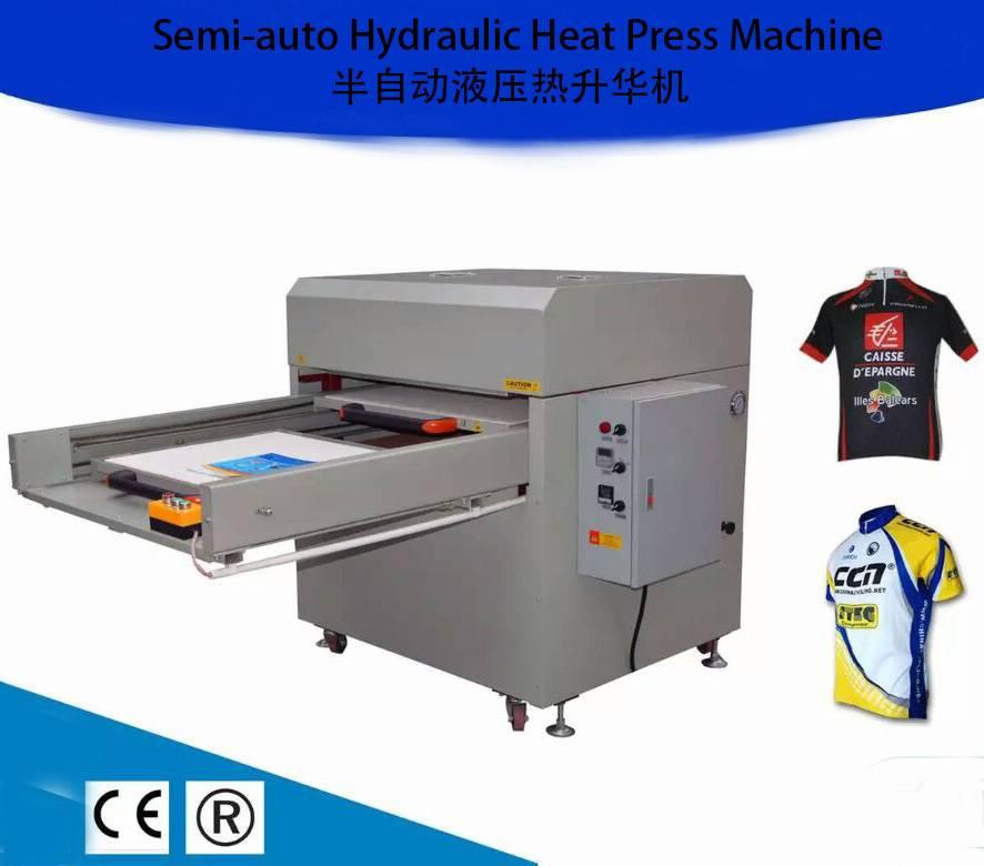 100x150CM T Shirt Hydraulic Heat Rosin Press Transfer Printing Machine in Spain HY100150