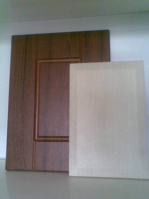 Wooden Grain Vinyl Foil for vacuum