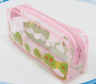 China customized made zipper design pvc pencil pouch
