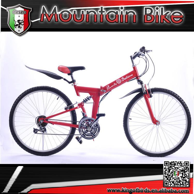 new style folding bike mountain bicycle 26 size cool mtb