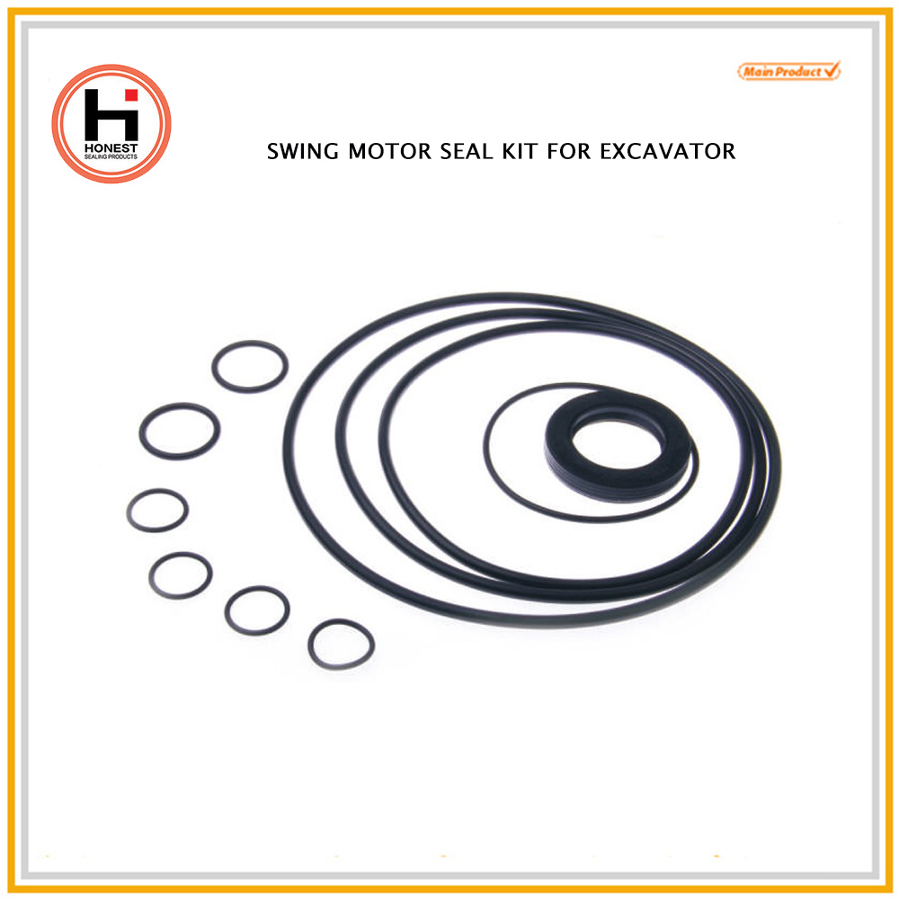 Swing Motor Seal Kits O Ring Kits Construction Excavator Swing Motor Seal Ring
