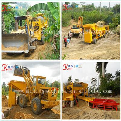 Qingzhou Mobile Gold Mining Device