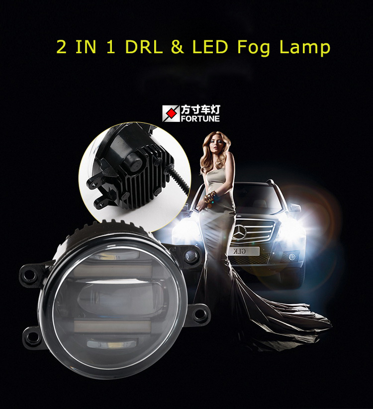 LED Lamp Type and 12V Voltage Toyota Corolla Altis 2016 fog light