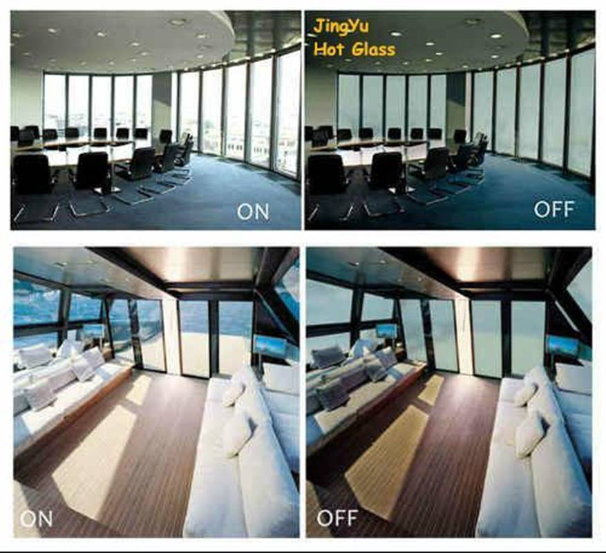 switchable self-adhesive smart film privacy film PDLC film