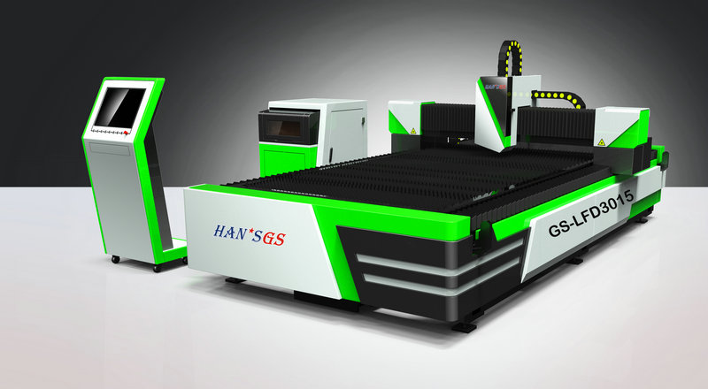 1000W 2000W 3000W Fiber Laser Metal Sheet CNC Cutting Machine