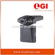 Factory Professional Car DVR Camera 2.5Inch TFT HD 720P 6RD Light Night Vision H198 Classical Model