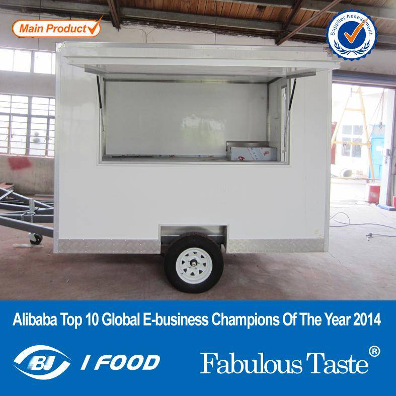 2015 New Product Hot Dog Sausage Food Trailer