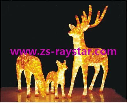 zhongshan raystar Deer lights 220v for holiday