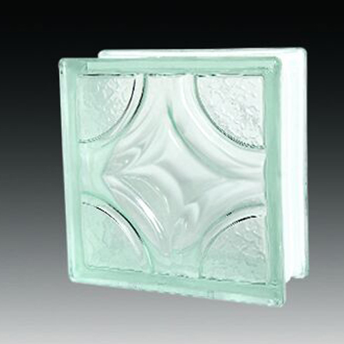 Cycie rhombus glass block