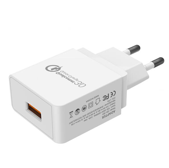 QC3.0 Travel Charger Quick Charger USB 3.0 Wall Phone Charger