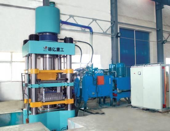 DYS850 automatic hydraulic block machine