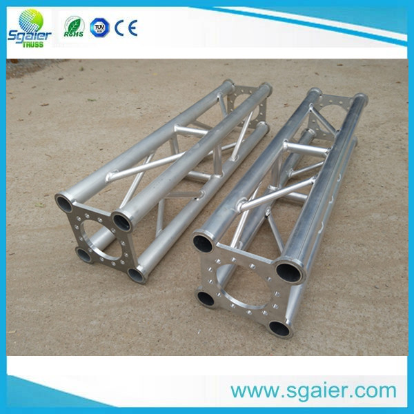 Outdoor aluminum concert stage roof truss design curved roof truss