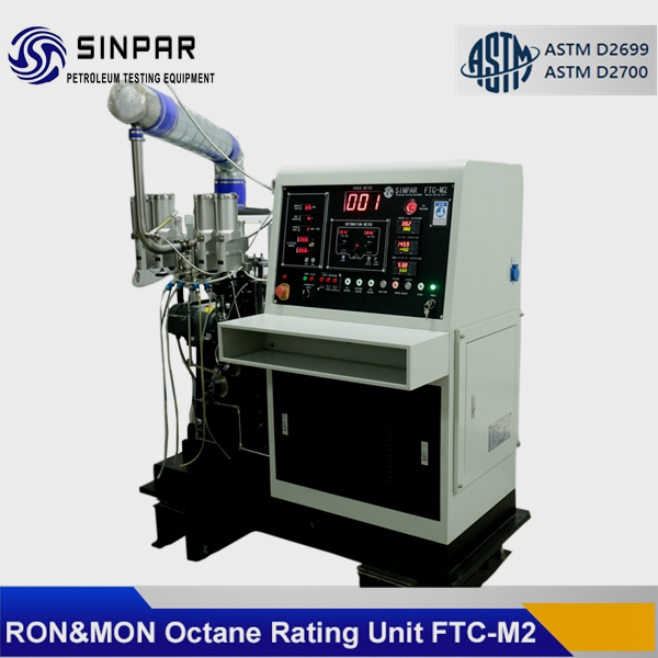 CFR octane rating engines SINPAR FTC-M1/M2 with RON MON method