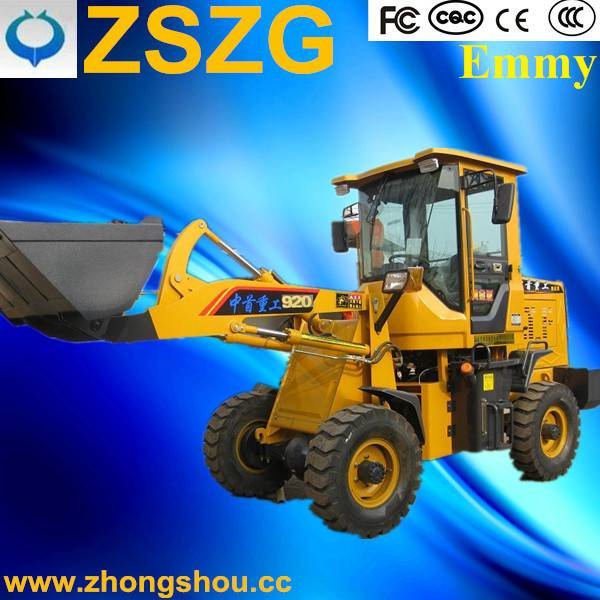 Shandong ZSZG 920F chinese wheel loader by professional manufacturer