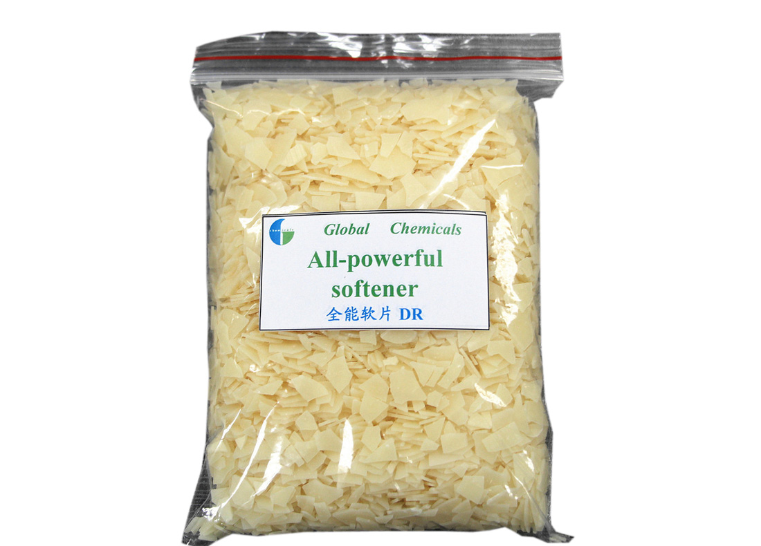 All Powerful Softener Weak Cationic Pale Yellow Flakes DR
