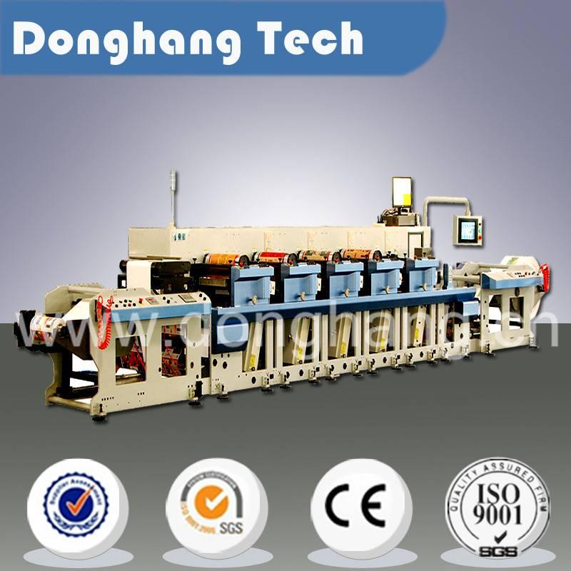 Automatic wide web flexo printing machine
