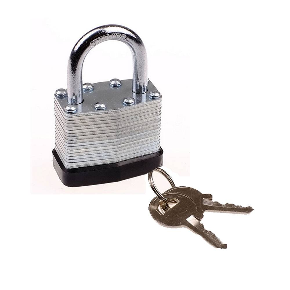 Newest padlock with two keys